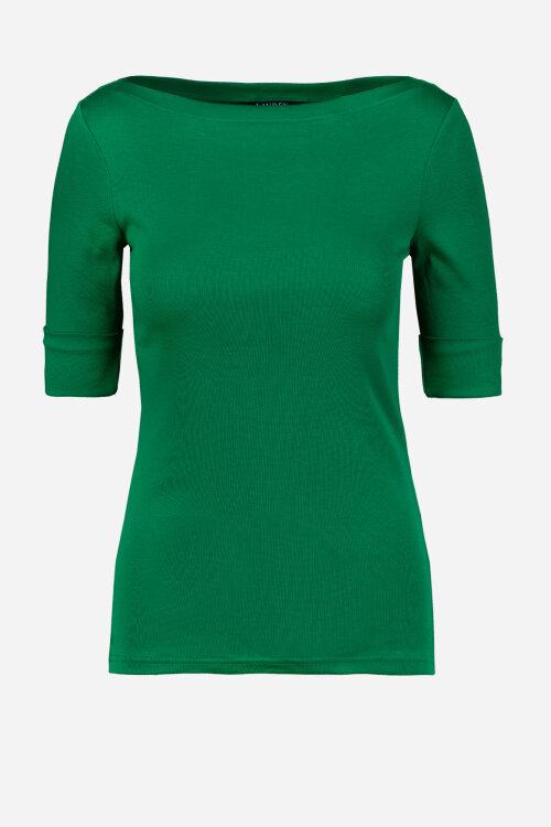 T-Shirt Lauren Ralph Lauren 200786936002_HEDGE GREE zielony