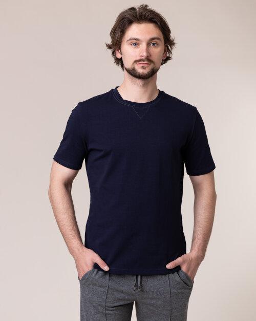 T-Shirt Philip Louis NOS_M-TSH-0038 NOS_NAVY granatowy