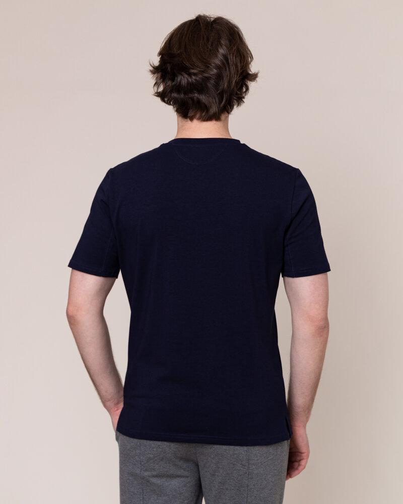 T-Shirt Philip Louis NOS_M-TSH-0038 NOS_NAVY granatowy - fot:4