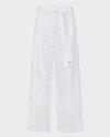 Spodnie Iblues ERMETE_71310202_003 biały