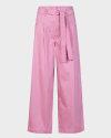Spodnie Iblues ERMETE_71310202_001 różowy