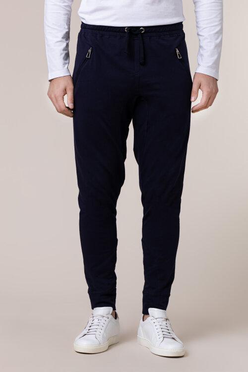 Spodnie Philip Louis NOS_M-TRO-0033 NOS _NAVY granatowy