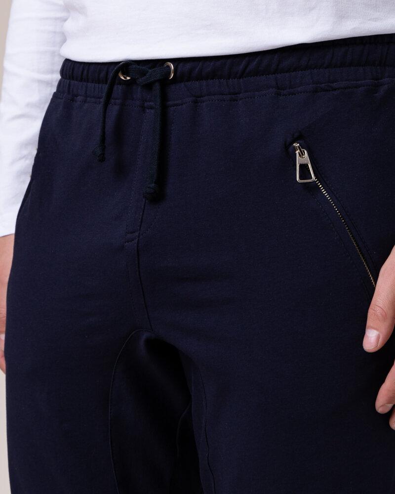 Spodnie Philip Louis NOS_M-TRO-0033 NOS _NAVY granatowy - fot:3