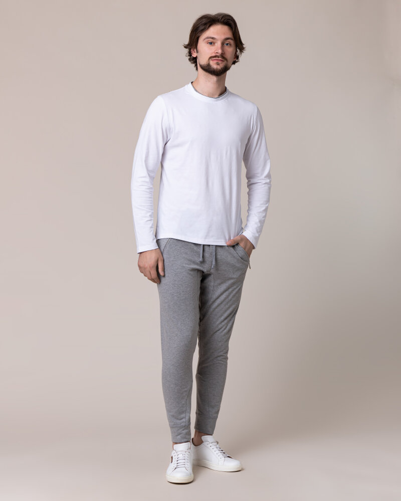 Spodnie Philip Louis NOS_M-TRO-0033 NOS _GREY szary - fot:6