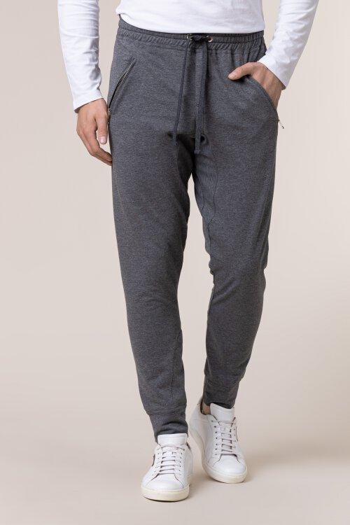 Spodnie Philip Louis NOS_M-TRO-0033 NOS_DARK GREY ciemnoszary