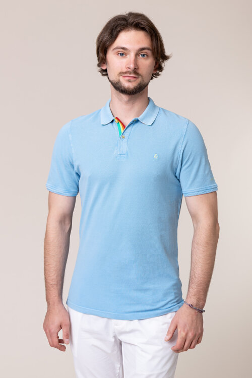 Polo Colours & Sons 9120-460_600 SKY niebieski