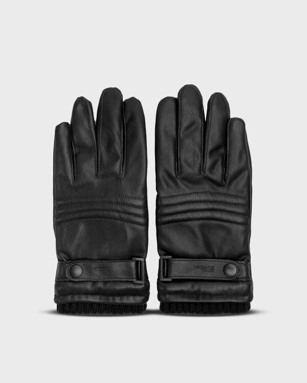 Rękawiczki Trussardi Jeans 57Z00158_9Y099999_K299 czarny