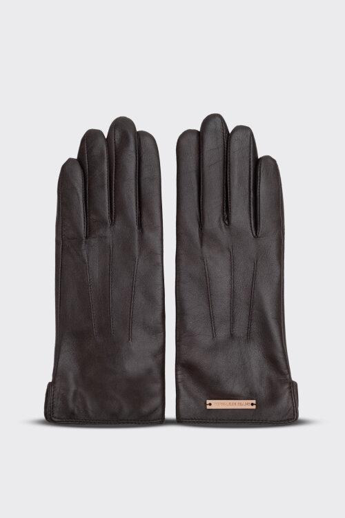 Rękawiczki Trussardi Jeans 59Z00166_9Y099996_B295 brązowy