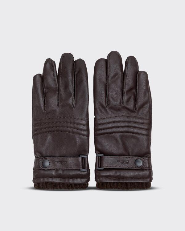Rękawiczki Trussardi Jeans 57Z00158_9Y099999_B295 brązowy