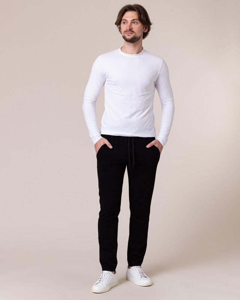 Spodnie Philip Louis NOS_M-TRO-0032 NOS _BLACK czarny - fot:6