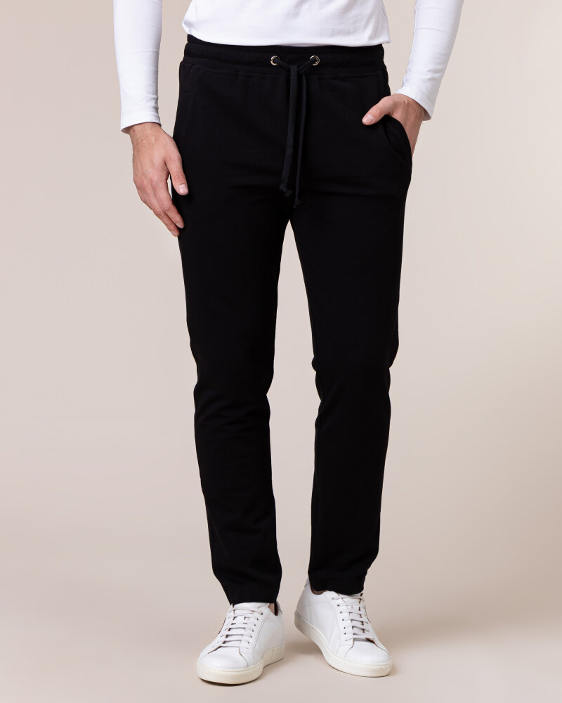 Spodnie Philip Louis NOS_M-TRO-0032 NOS _BLACK czarny - fot:2