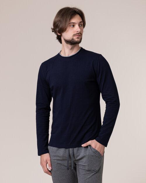 T-Shirt Philip Louis NOS_M-TSH-0034 NOS_NAVY granatowy