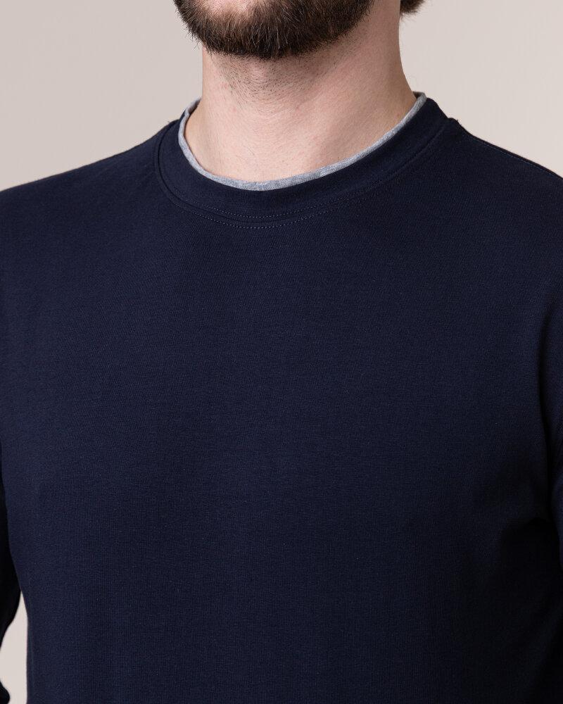 T-Shirt Philip Louis NOS_M-TSH-0034 NOS_NAVY granatowy - fot:3