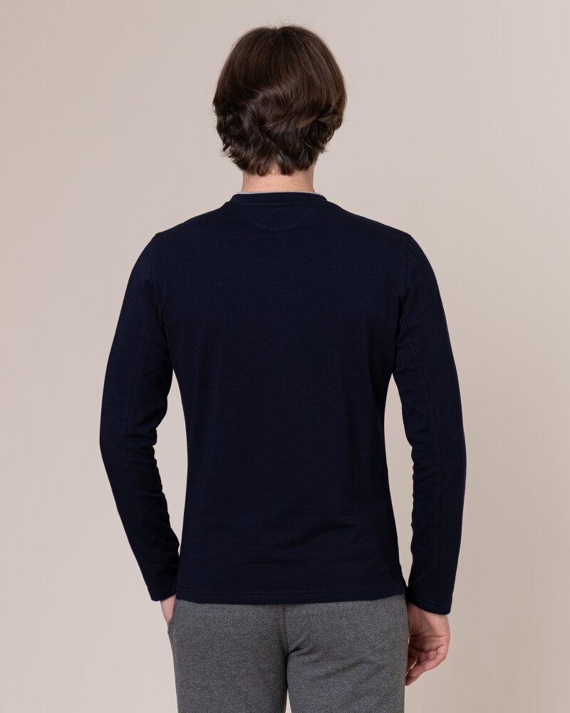 T-Shirt Philip Louis NOS_M-TSH-0034 NOS_NAVY granatowy - fot:4