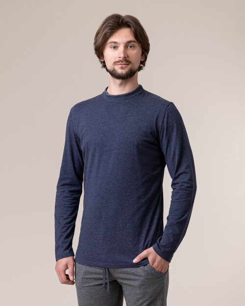 T-Shirt Philip Louis NOS_M-TSH-0034 NOS_INDYGO granatowy