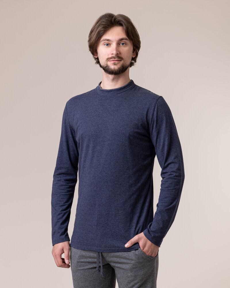 T-Shirt Philip Louis NOS_M-TSH-0034 NOS_INDYGO granatowy - fot:2