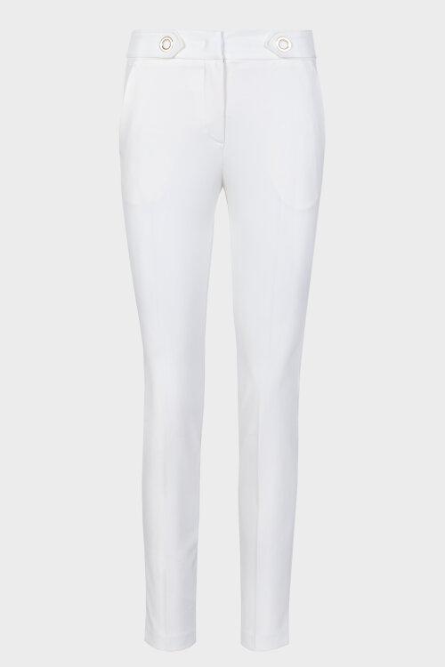 Spodnie Trussardi Jeans 56P00180_1T002593_W002 kremowy