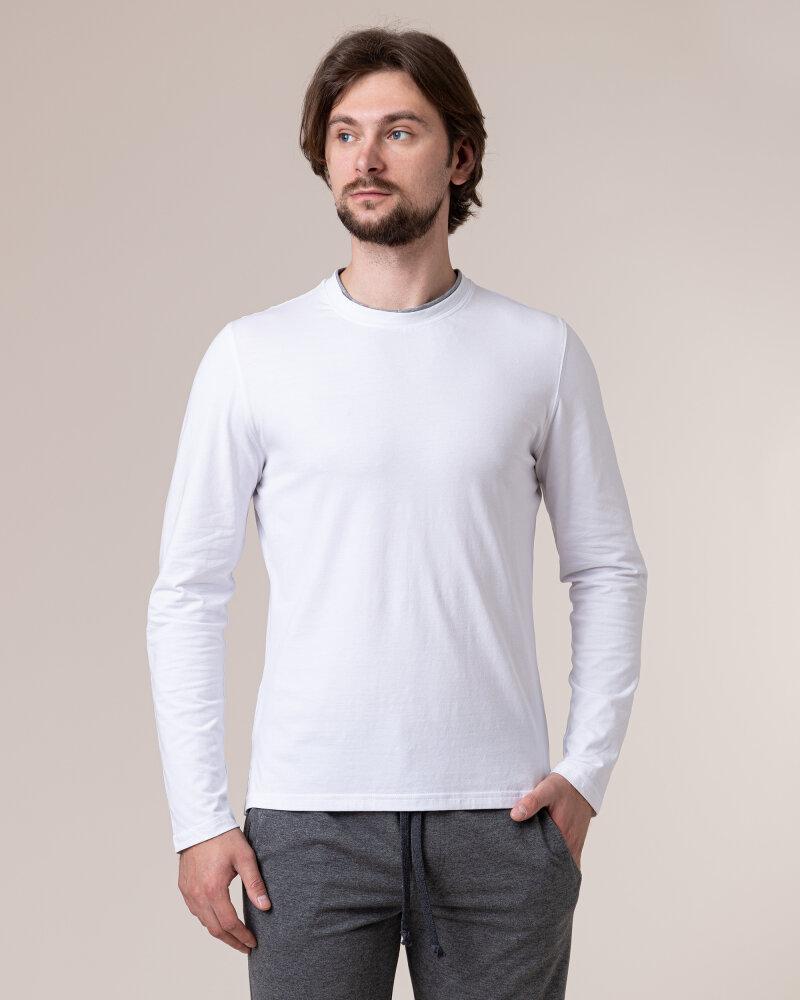 T-Shirt Philip Louis NOS_M-TSH-0034 NOS_WHITE biały - fot:2