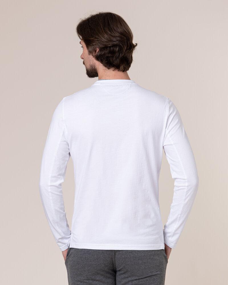 T-Shirt Philip Louis NOS_M-TSH-0034 NOS_WHITE biały - fot:4