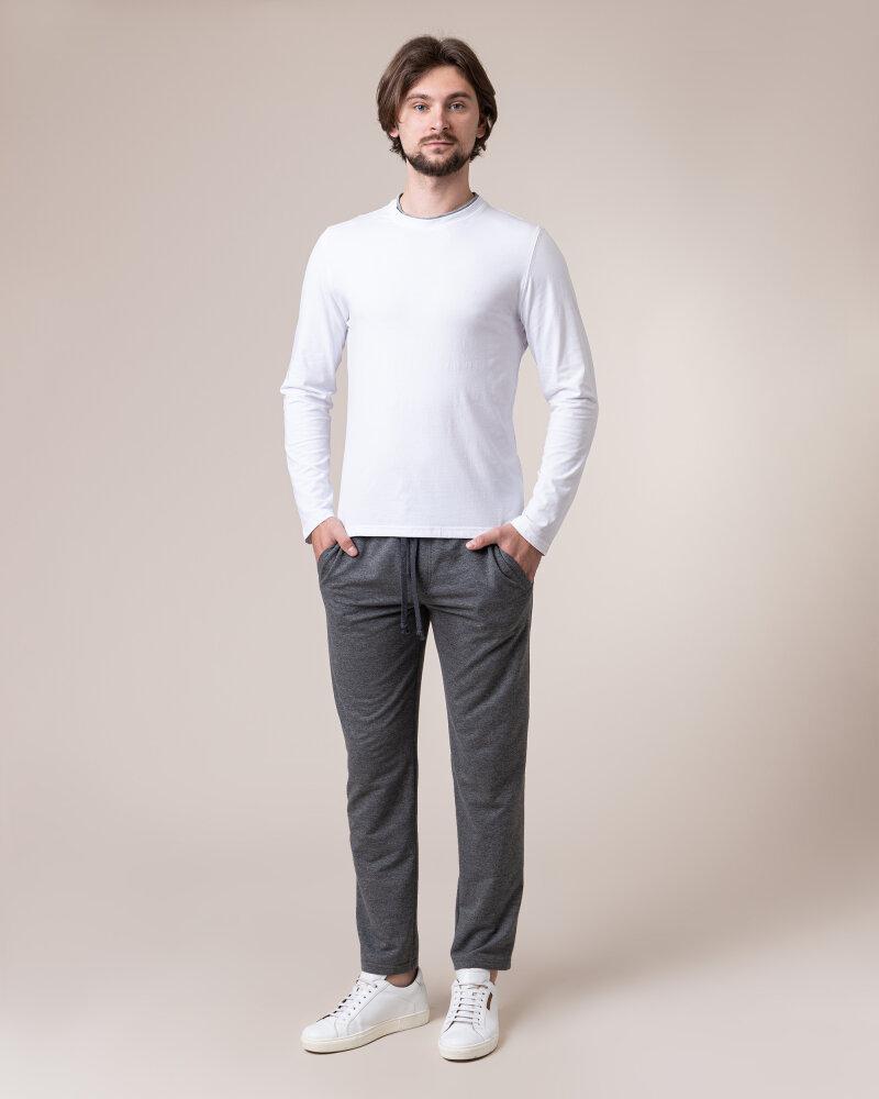 T-Shirt Philip Louis NOS_M-TSH-0034 NOS_WHITE biały - fot:5