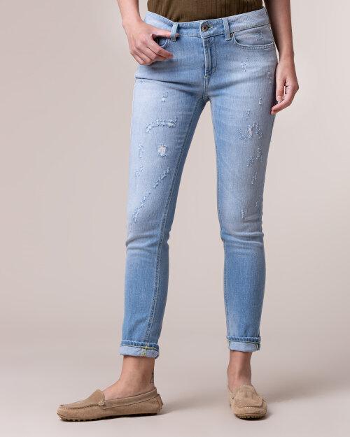 Spodnie Dondup P692_DS0268D_800 niebieski