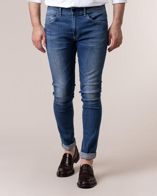 Spodnie Dondup UP232Z_DSE245U_800 niebieski