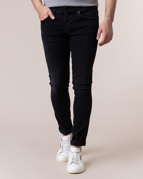 Spodnie Dondup Up232_Ds0236U_999 Czarny Dondup UP232_DS0236U_999 czarny