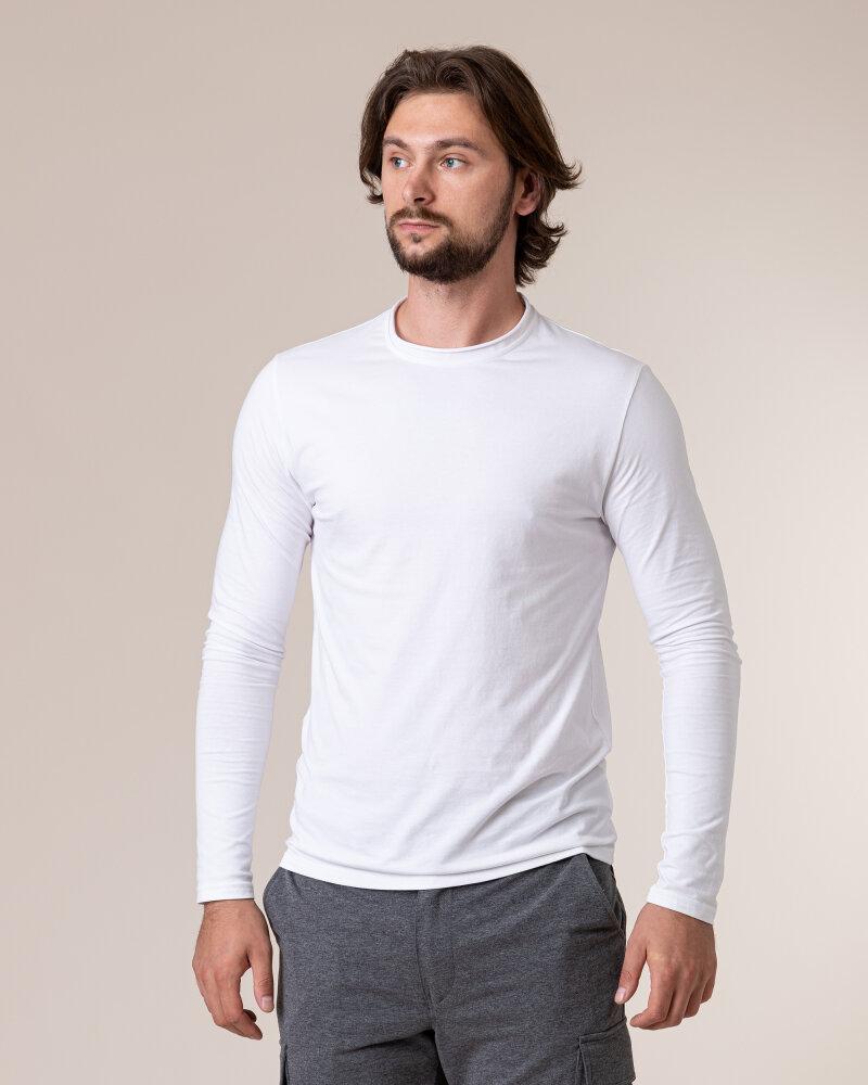 T-Shirt Philip Louis NOS_M-TSH-0043 NOS_WHITE biały - fot:2