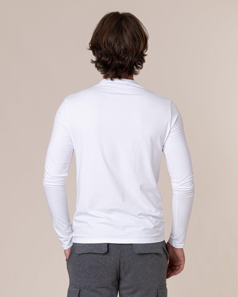 T-Shirt Philip Louis NOS_M-TSH-0043 NOS_WHITE biały - fot:4