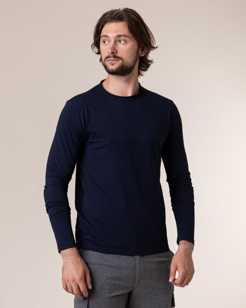 T-Shirt Philip Louis NOS_M-TSH-0043 NOS_NAVY granatowy
