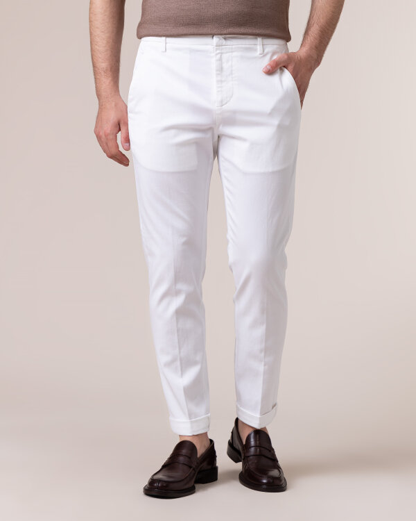 Spodnie Dondup UP553_GSE045U_000 biały