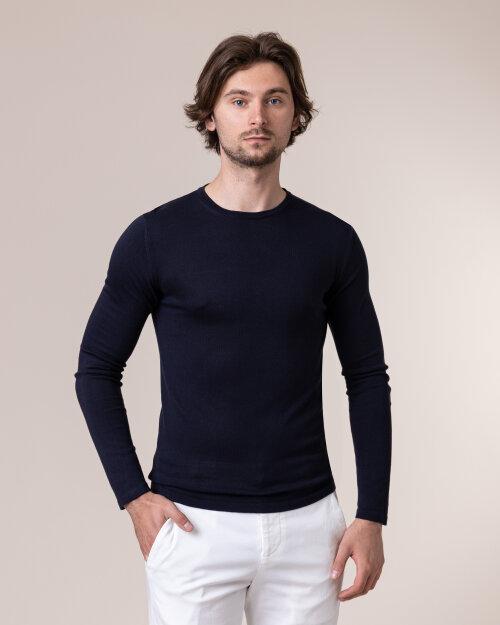 Sweter Daniele Fiesoli DF0415_0023 granatowy