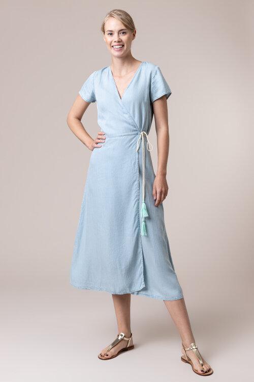 Sukienka Femi Stories B-ELSA_LBD niebieski