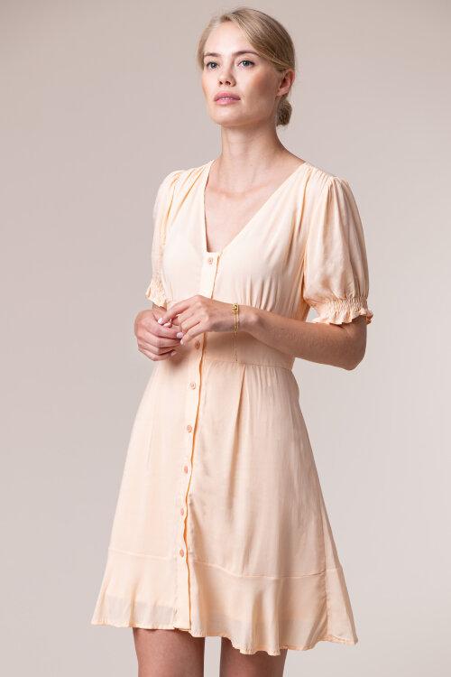 Sukienka Na-Kd 1018-005335_APRICOT pomarańczowy