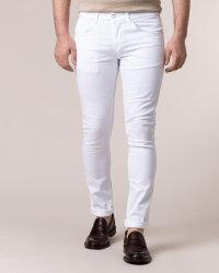 Spodnie Dondup UP232_BSE027U_000 biały- fot-1