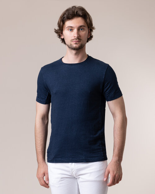 T-Shirt Daniele Fiesoli DF1185_0023 granatowy