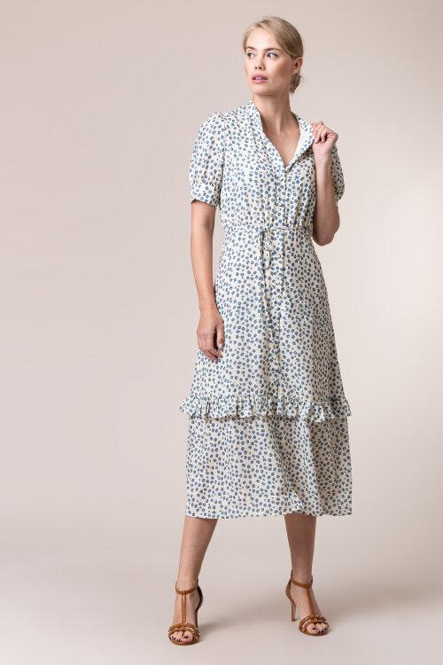 Sukienka Na-Kd 1018-005334_BLUE FLOWER kremowy
