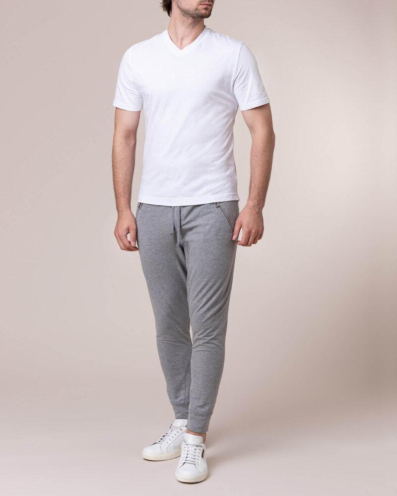 T-Shirt Philip Louis NOS_M-TSH-0041 NOS_WHITE biały - fot:5