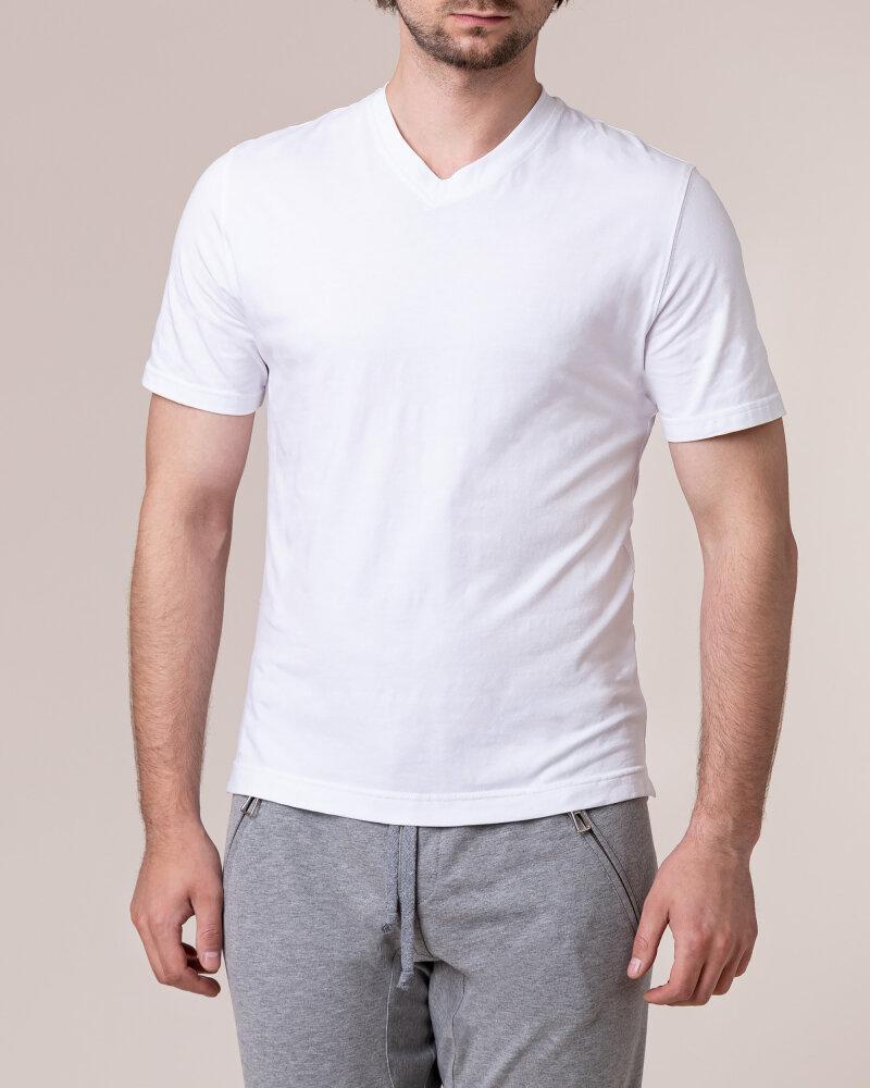 T-Shirt Philip Louis NOS_M-TSH-0041 NOS_WHITE biały - fot:2