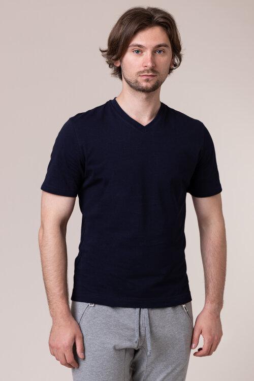 T-Shirt Philip Louis NOS_M-TSH-0041 NOS_NAVY granatowy