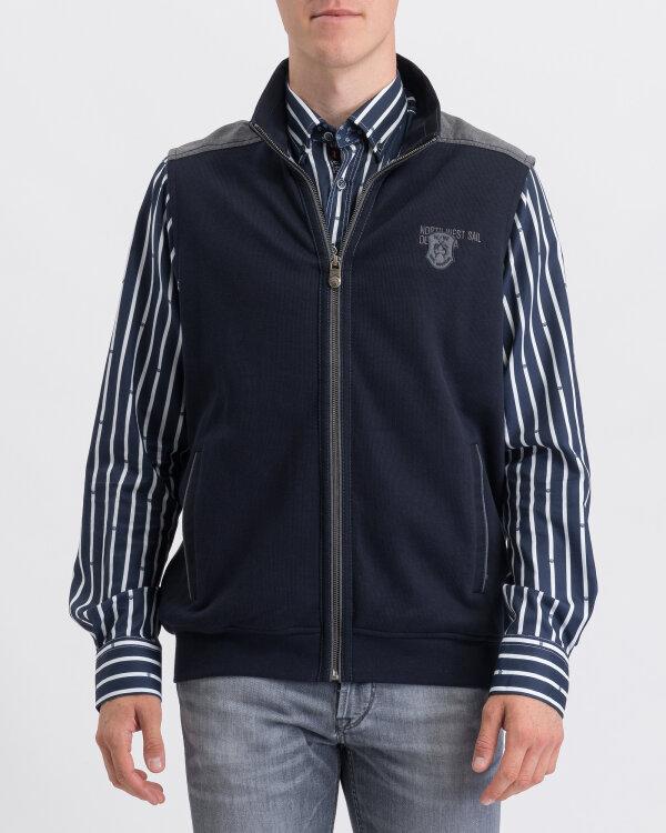 Sweter Campione 2917023_111145_85400 granatowy