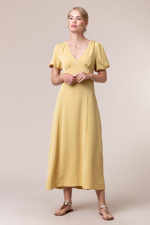 Sukienka Na-Kd 1018-005323_YELLOW żółty