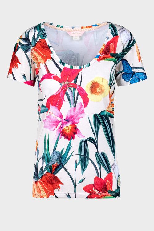 T-Shirt Femi Stories B-LANDA_MDW beżowy