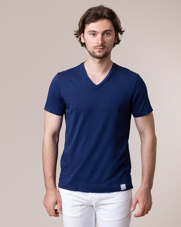 T-Shirt Daniele Fiesoli DF0629_0024 niebieski