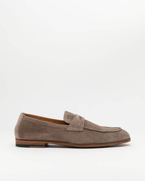 Buty Doucal's DU1913_DEREUY106MM05_WASH TAUPE+F.DO MALT beżowy