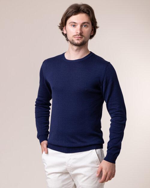 Sweter Daniele Fiesoli DF0320_0023 granatowy