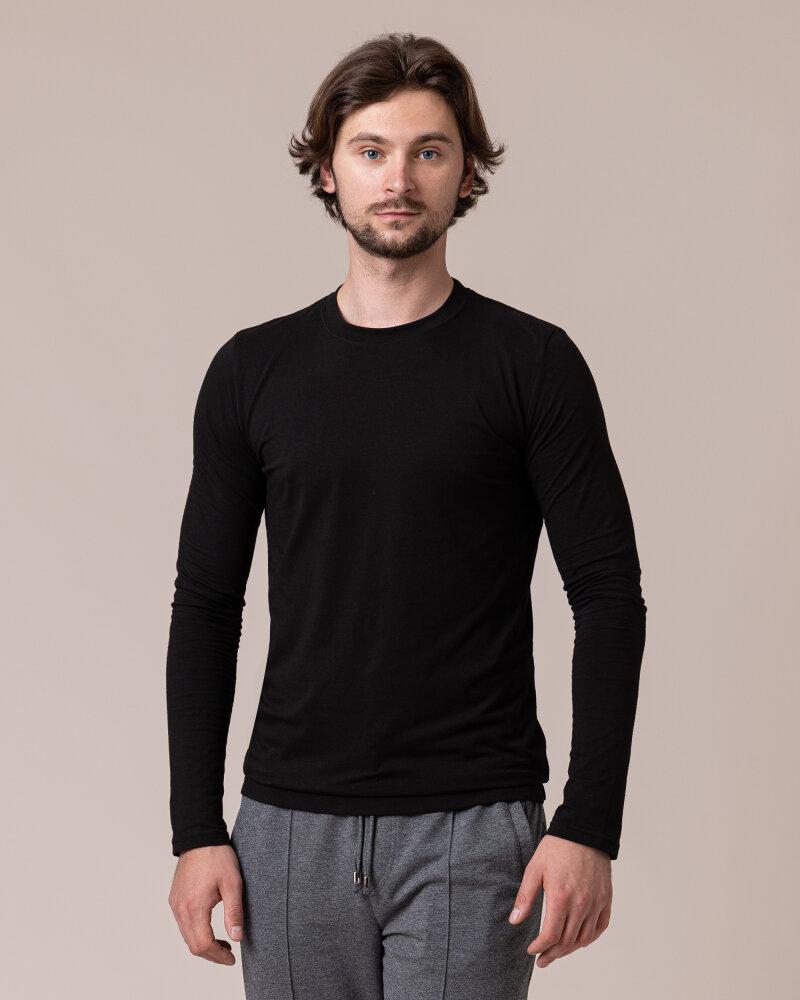 T-Shirt Philip Louis NOS_M-TSH-0044 NOS_BLACK czarny - fot:2