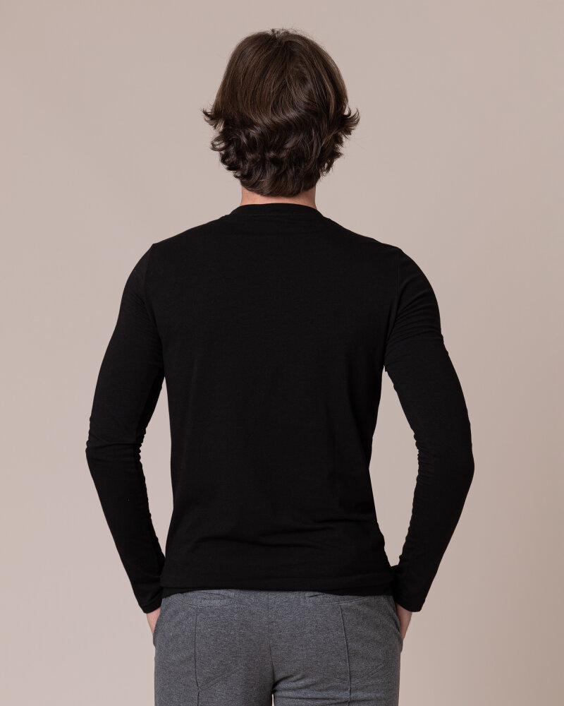 T-Shirt Philip Louis NOS_M-TSH-0044 NOS_BLACK czarny - fot:4