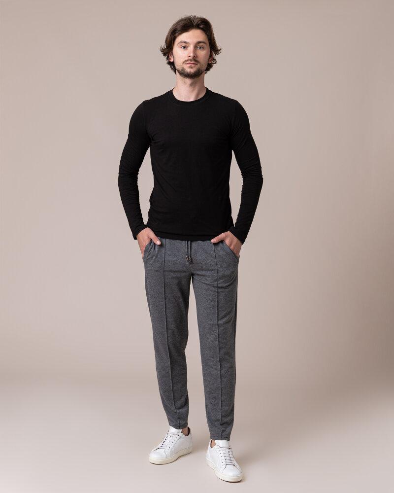 T-Shirt Philip Louis NOS_M-TSH-0044 NOS_BLACK czarny - fot:5