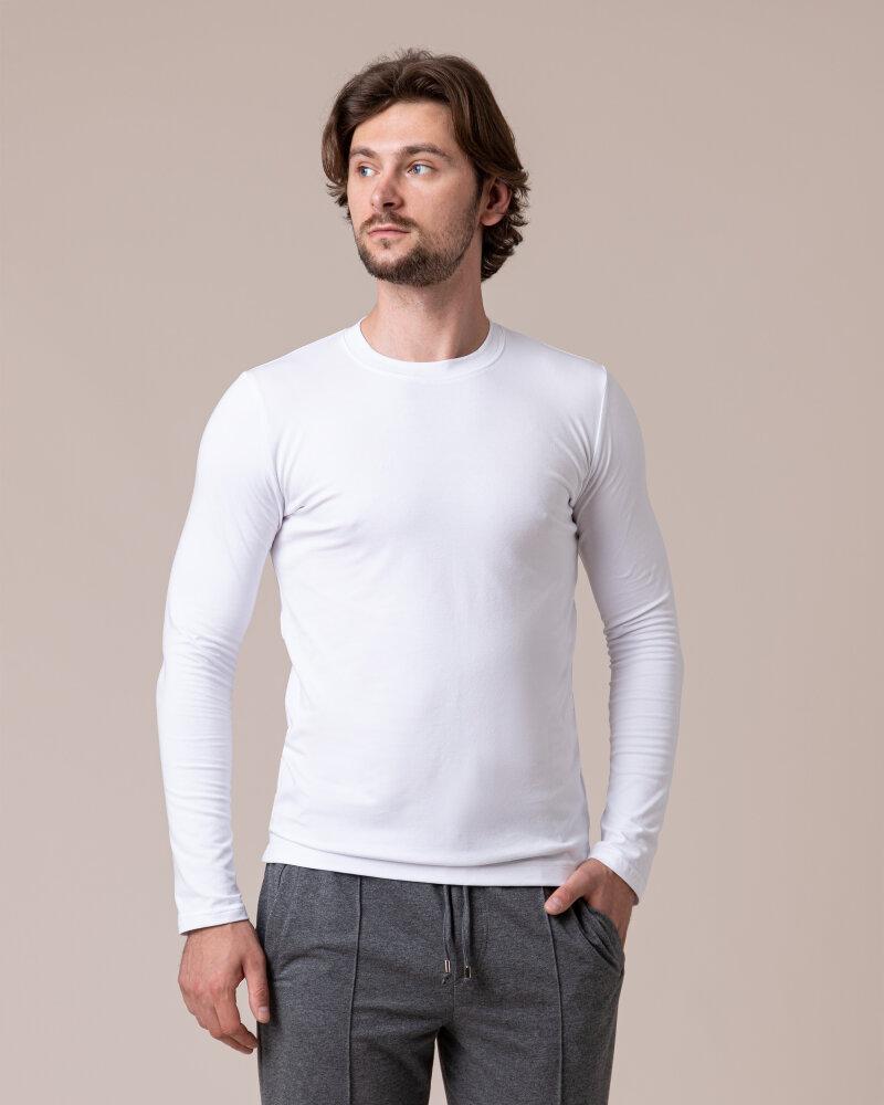 T-Shirt Philip Louis NOS_M-TSH-0044 NOS_WHITE biały - fot:2